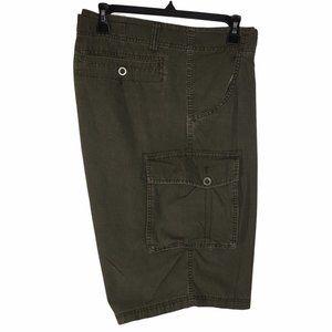 Calvin Klein Jean Men's Green Cargo Short Size 38